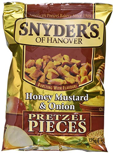 Snyder's of Hanover Honey Mustard und Onion, 10er Pack (10 x 125 g)