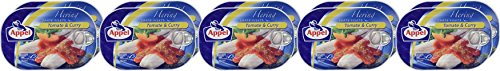Appel Heringsfilets Tomate & Curry, 10er Pack Konserven, Fisch in Tomatensauce mit Curry - 4