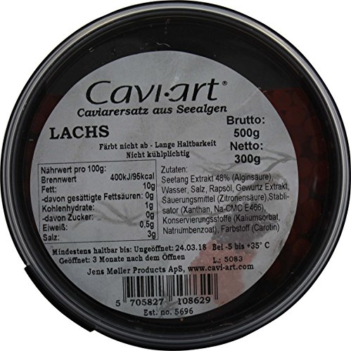 CAVI-ART Lachs-Kaviar Alternative, 500g