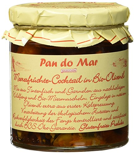 Pan do Mar Meeresfrüchte-Cocktail in Bio Olivenöl, 220 g