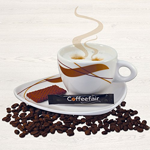 Set | Turm Kaffee-Sahne 240 Stk & Coffeefair Zucker-Sticks 1000 x 4 g - 3