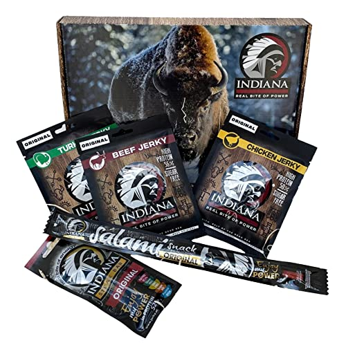 Indiana Jerky Beef Peppered, 10er Pack (10 x 25 g) - 2
