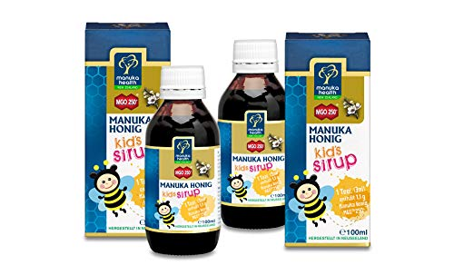 Manuka Health Honig Kinder-Sirup Bundle, 500 g