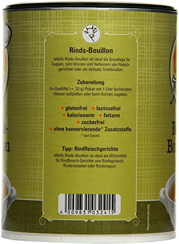 tellofix Rinds-Bouillon , 1er Pack (1 x 540 g Packung) - 4