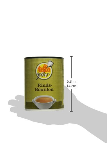 tellofix Rinds-Bouillon , 1er Pack (1 x 540 g Packung) - 6