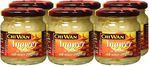 Chi Wán Ingwer in süsser Lake, 6er Pack (6 x 190 g) - 7