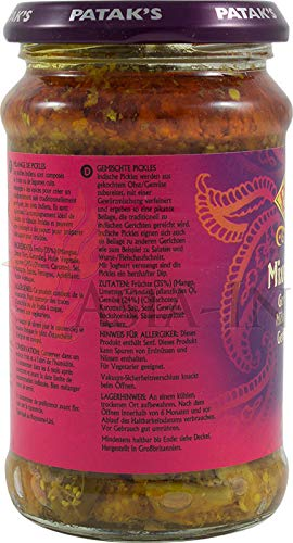 Patak´s Mixed Pickle 283g - 2
