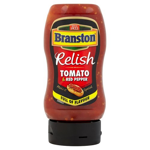 Branston Tomato And Red Pepper Relish 350g