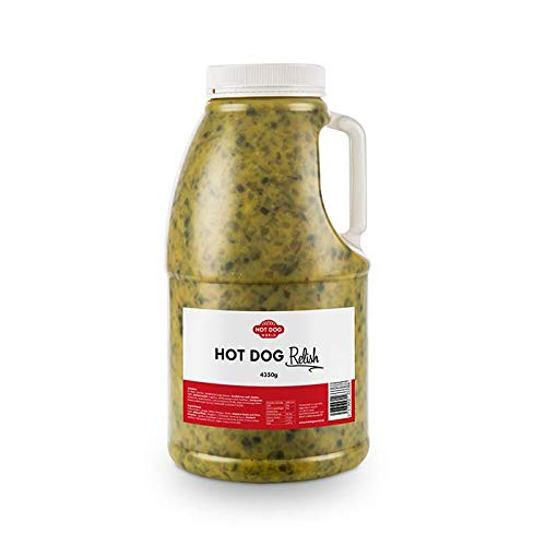 Hot Dog World Hot Dog Relish - Gurke Senf 4 L