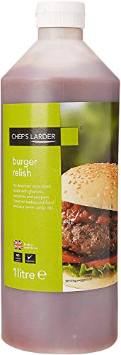 Chef's Larder Burger Relish 1 Litre