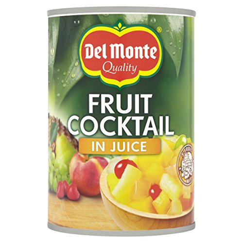 Del Monte Frucht- Cocktail in Saft , 12er Pack (12 x 250 g)