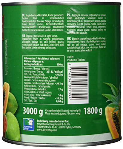 Diamond Tropischer Fruchtcocktail, 1er Pack (1 x 3 kg Packung) - 3