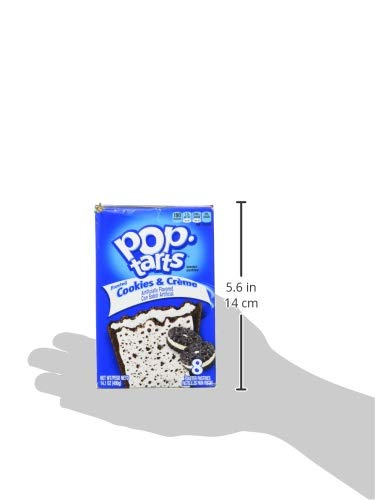 Kelloggs Pop Tarts – Frosted Cookies & Cream (400g) - 3