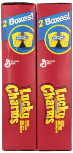 LUCKY CHARMS CEREAL – HUGE 1.3 KG BOX – LARGEST AMERICAN BOX NEW BOX DESIGN … - 3