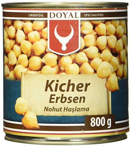 Doyal Kichererbsen, in Lake vorgekocht, 800 g