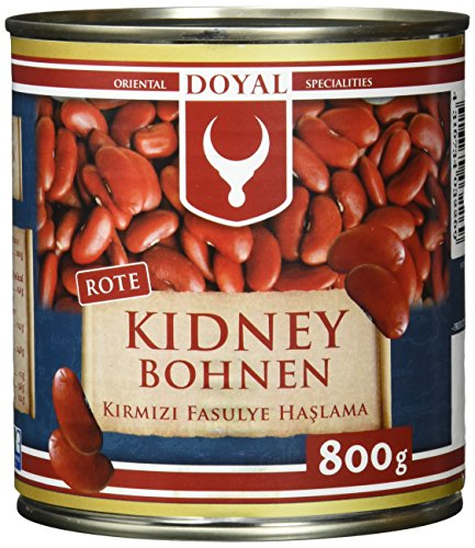 Doyal Rote Kidney-Bohnen, in Lake vorgekocht, 12er Pack (12 x 480 g)