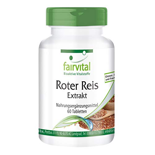 Roter Reis Extrakt 150mg - VEGAN - 60 Tabletten - 4,5mg Monacolin K