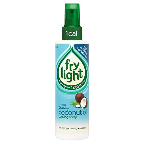 FryLight Coconut Oil Cooking Spray 2x 190ml - 1 Cal. per Spray! Speiseöl kalorienarm