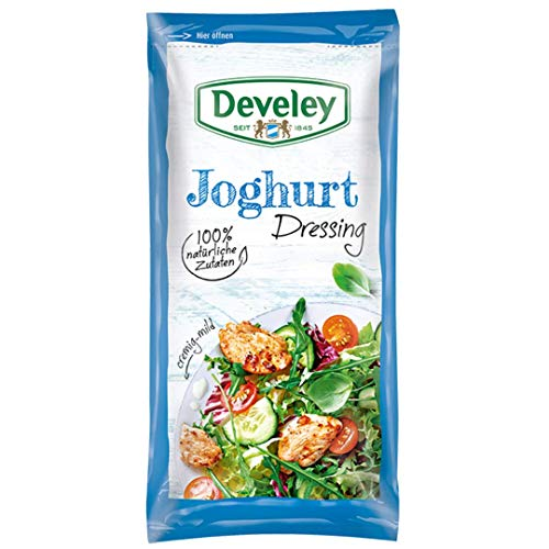 Develey Joghurt Portionsbeutel, 14er Pack (14 x 75 ml)