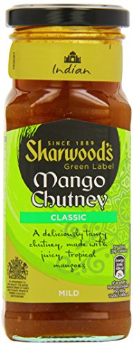 Sharwood's Green Label Mango Chutney Classic 360g