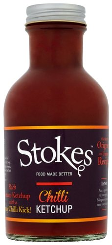 Stokes Chili Tomato Ketchup, 240ml