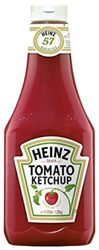 Heinz Tomaten Ketchup Squeeze, 3er Pack (3 x 1.17 l)