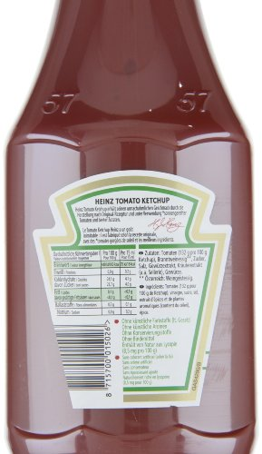 Heinz Tomaten Ketchup Squeeze, 3er Pack (3 x 1.17 l) - 2