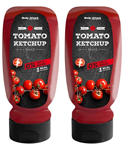 Body Attack Tomato Ketchup, 2er Pack (2x 320ml)