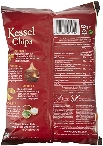 funny-frisch Kessel Chips Sweet Chili & Red Pepper, 120 g - 2