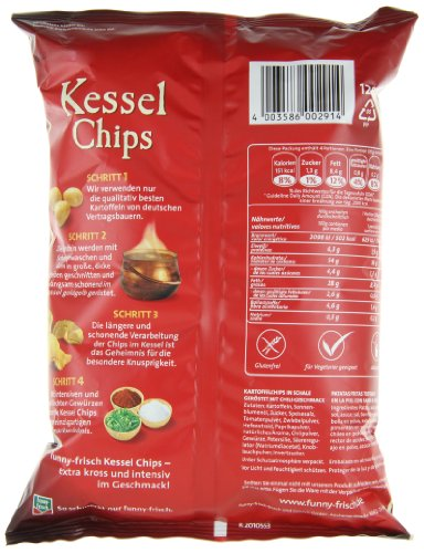 funny-frisch Kessel Chips Sweet Chili & Red Pepper, 120 g - 4