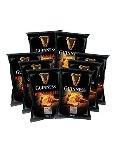 "5 x 150g Guinness Chips Mix ""RICH CHILLI"" + 5 x 150g ""GUINNESS FLAVOUR"""