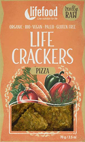 lifefood Life Crackers Pizza, 2er Pack (2 x 70 g)
