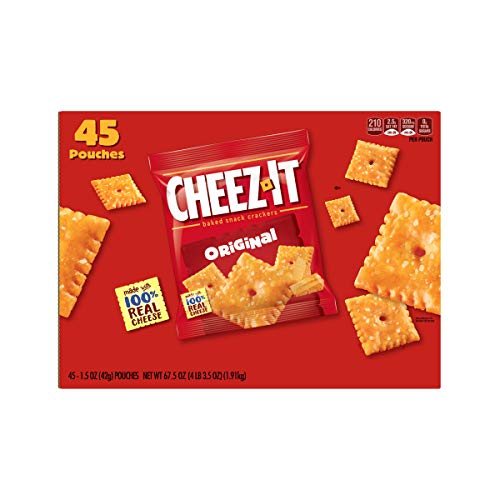 Sunshine Cheez It Baked Snack Crackers, 67.5 Ounce - 6