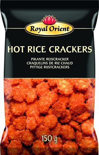 Royal Orient HOT RICE CRACKERS 150g Pikante Reiscracker