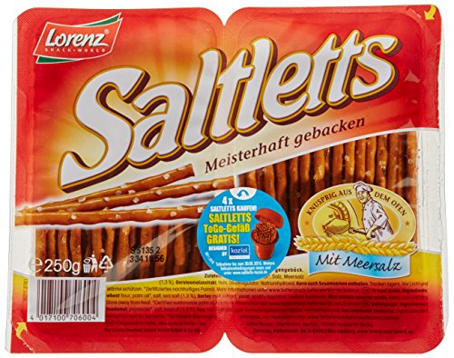 Lorenz Snack World Saltletts Sticks Classic, 4er Pack (4 x 250 g)