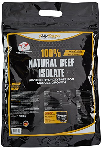 My Supps 100% Natural Beef Isolat, 1er Pack (1 x 2 kg)