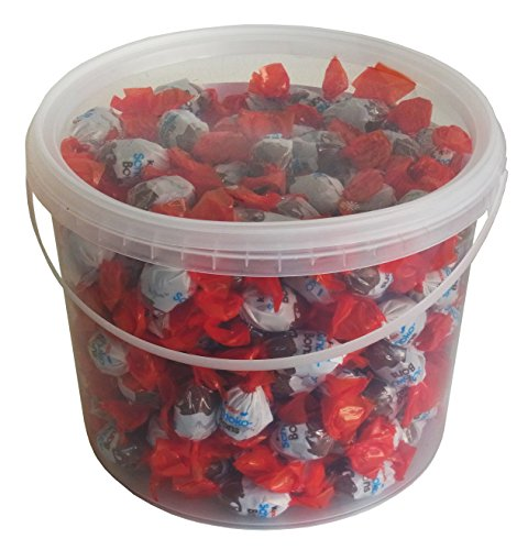 Party Bucket mit Ferrero Kinder Schoko Bons in Einzelverpackung, 1er Pack (1 x 1,2 kg) - 5