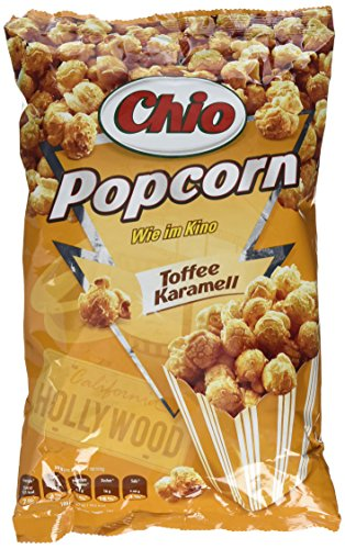Chio Ready-Made Popcorn Toffee Karamell, 120 g