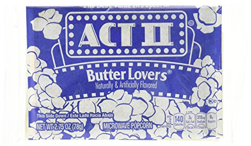Act II Butter Lovers Microwave Popcorn (3oz., 30 bags) …
