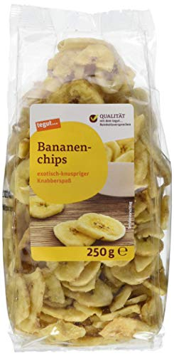 Tegut Bananenchips, 250 g