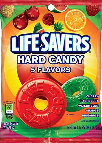 Lifesavers Hard Candy 5 Flavors (177gramm)
