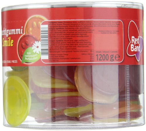 Red Band Fruchtgummi Smile, Dose, 6er Pack (6 x 100 St. Dose) - 3