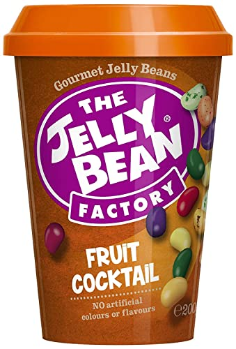 The Jelly Bean Factory Der Frucht-Cocktail Becher 200g, 1 Pack (200 g)