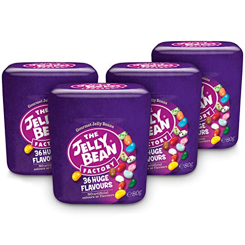 The Jelly Bean Factory 36 Gourmet Flavours 80g Cup - 4er Pack