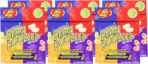 Jelly Belly Bean Boozled Flip Top Packung , 6er Pack (6 x 45 g) - 6