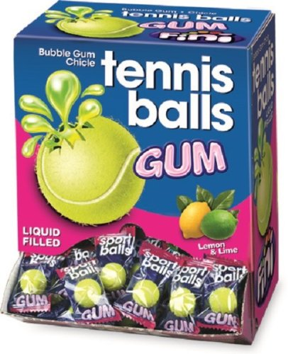 Fini Tri D'Aix - Bubble Gum - Kaugummi - Sports Tennis - Box mit 200 Stück
