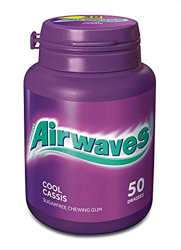 Wrigley's Airwaves Cool Cassis Dose, 50 Dragees