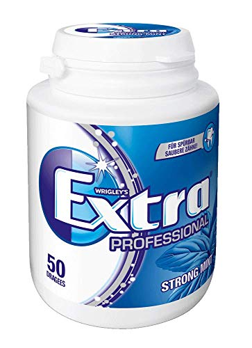 Wrigley's Extra Professional Strong Mint Dose, 50 Dragees