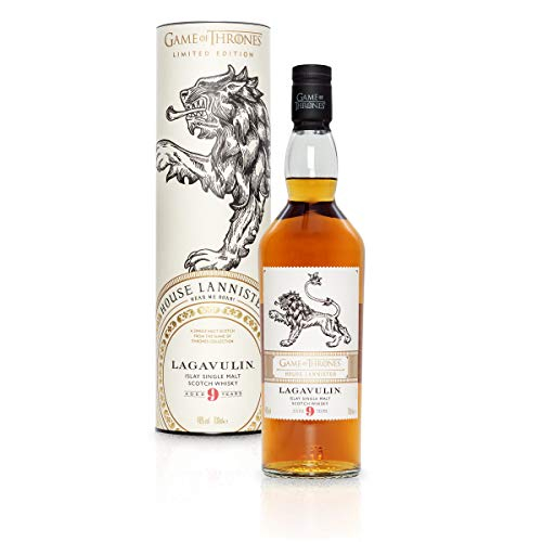 Lagavulin 9 Jahre Single Malt Scotch Whisky - Haus Lannister Game of Thrones Limitierte Edition