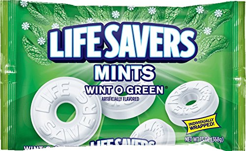 Life-Savers Wint O Green Beutel, 1er Pack (1 x 368 g)